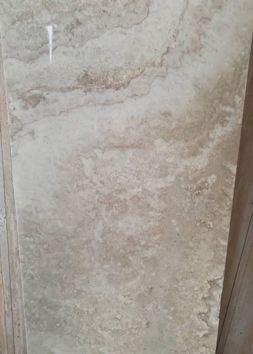 تراورتن سفید نمای رومی