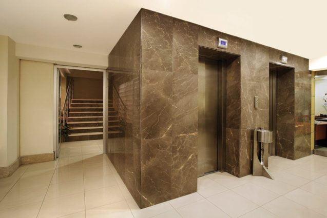 سنگ اسلب آسانسور