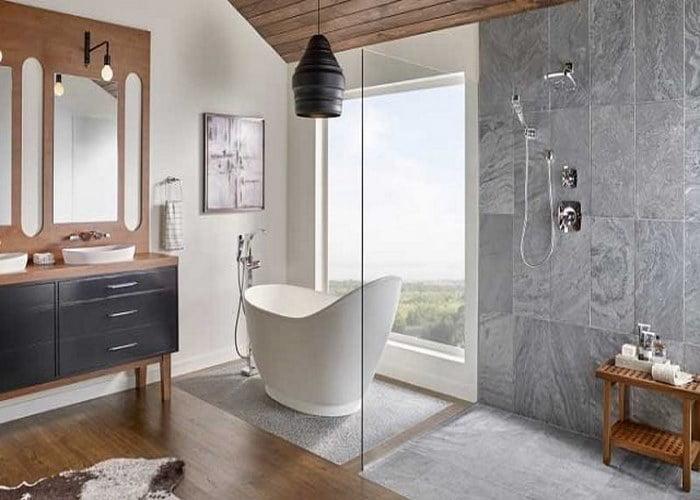 سنگ کف دستشویی